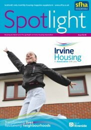 SFHA Spotlight October 2012 - Riverside