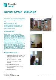 Dunbar Street - Wakefield - Riverside