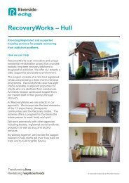 RecoveryWorks – Hull - Riverside