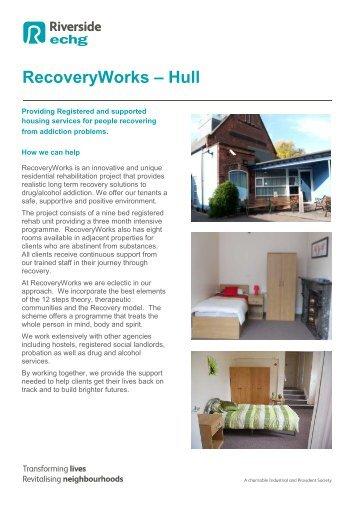 RecoveryWorks – Hull - Riverside