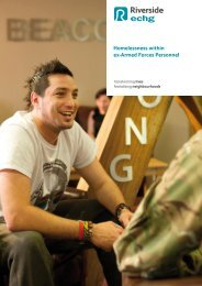 Homelessness within ex-Armed Forces Personnel - Riverside