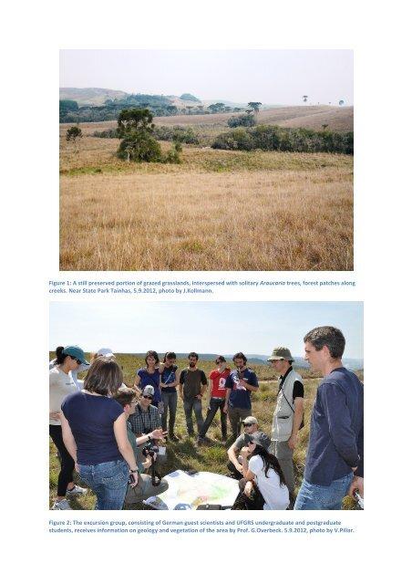 Photo album German-Brazilian excursion, Campos da Cima da ...