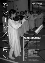 Privaten januar 2009 - Rønne Privatskole