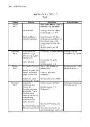 Årsplan for 9.x tysk 2011