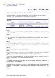 allocation de subsides aux élèves et étudiants - Roeser
