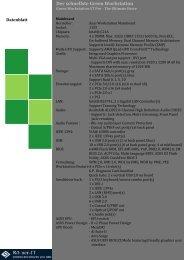 Datenblatt Green Workstation GT-Pro