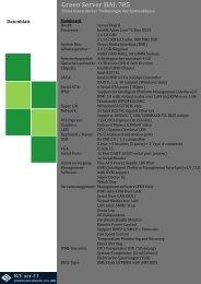 Green Server HAL-785 Datenblatt