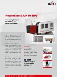 PowerLine E Air 10 THG - Rofin