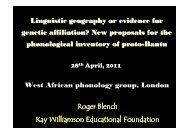 Blench London phonology 2011.pdf - Roger Blench