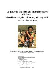 NE India musical instruments.pdf - Roger Blench