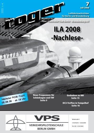 ILA 2008 - Roger - Luftfahrtnachrichten für Berlin und Brandenburg