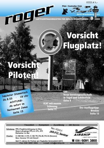 Roger Vorlage - Roger - Luftfahrtnachrichten für Berlin und ...