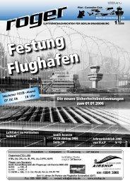 Festung Flughafen - Roger - Luftfahrtnachrichten für Berlin und ...