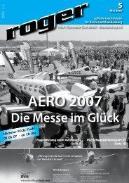 Die Messe im Glück - Roger - Luftfahrtnachrichten für Berlin und ...