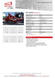 RTC 220 R2LKW-City-LIFT - Roggermaier