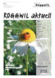 100 Jahre Elektra Roggwil - Gemeinde Roggwil