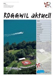 1. Juli 2013 - Gemeinde Roggwil