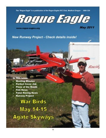 May - The Rogue Eagles R/C Airplane Club