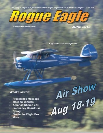 July - The Rogue Eagles R/C Airplane Club