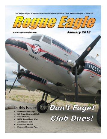 January - The Rogue Eagles R/C Airplane Club