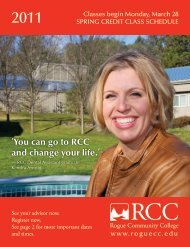 You can go to RCC and change your life. - Rogue Community College