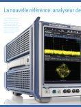 Nouveaux analyseurs de spectre et de signaux - Rohde & Schwarz - Page 2