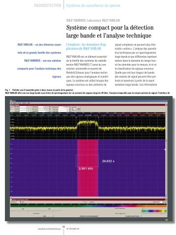 Download article as PDF (2.5 MB) - Rohde & Schwarz France