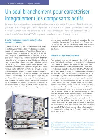 Download article as PDF (0.6 MB) - Rohde & Schwarz France