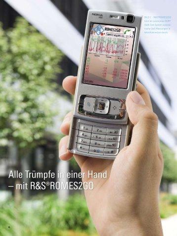 Alle Trümpfe in einer Hand – mit R&S ... - Rohde & Schwarz