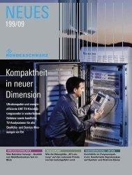 Kompaktheit in neuer Dimension - Rohde & Schwarz