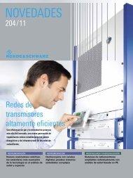 NOVEDADES - Rohde & Schwarz International