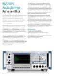 for R&S®UPV Audio Analyzer - Rohde & Schwarz - Page 2