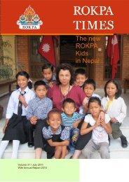 The new ROKPA Kids in Nepal