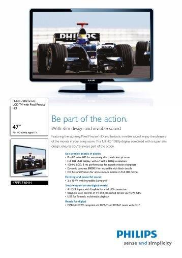 Leaflet 47PFL7404H_12 Released United Kingdom ... - RoLAN