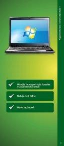 Brošura Windows 7 - DISS - Microsoft - Page 3