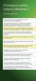 Brošura Windows 7 - DISS - Microsoft - Page 4