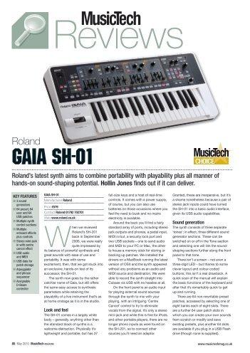GAIA SH-01 - Roland UK