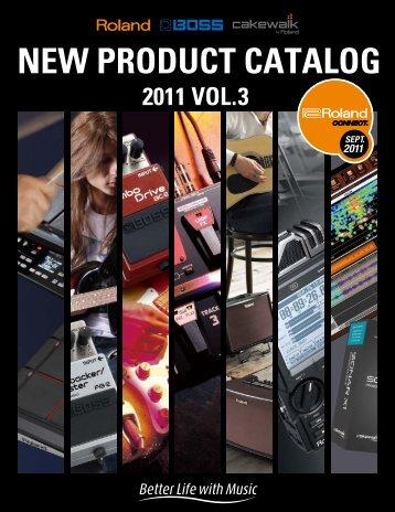 NEW PRODUCT CATALOG RODUCT CATALOG - Roland UK