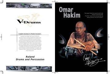 V-Drums Catalog 2004 - Roland