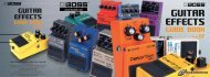 BOSS Guitar Effects Guidebook (PDF) - Roland