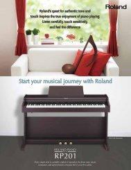 RP-201 Brochure - Roland