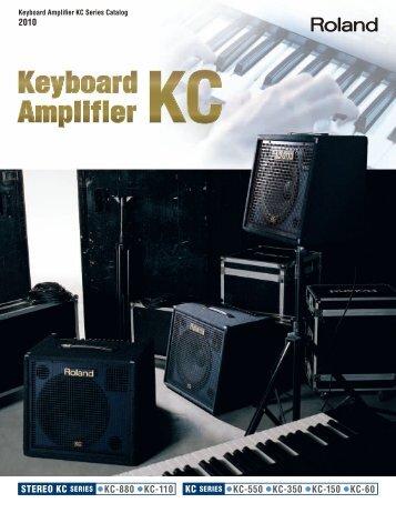 stereo kc series kc-880 kc-110 kc-550 kc-350 kc-150 kc-60 - Roland