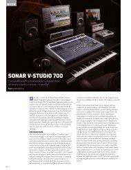 Audio Technology SONAR V-STUDIO 700 REVIEW - Roland Australia