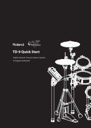 TD-9 Quick Start