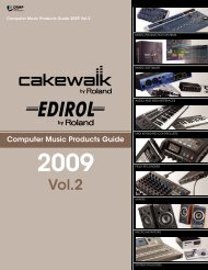 Computer Music Products Guide 2009 Vol.2 (PDF)