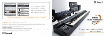 Choose your music creation dream station! - Roland