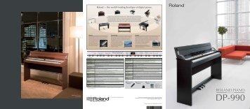 DP-990 Brochure - Roland