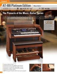 AT-900 Platinum Edition Music Atelier - Roland
