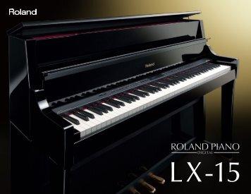 LX-15 Brochure - Roland