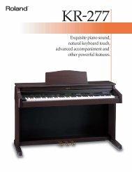 Download KR-277 Brochure (PDF)
